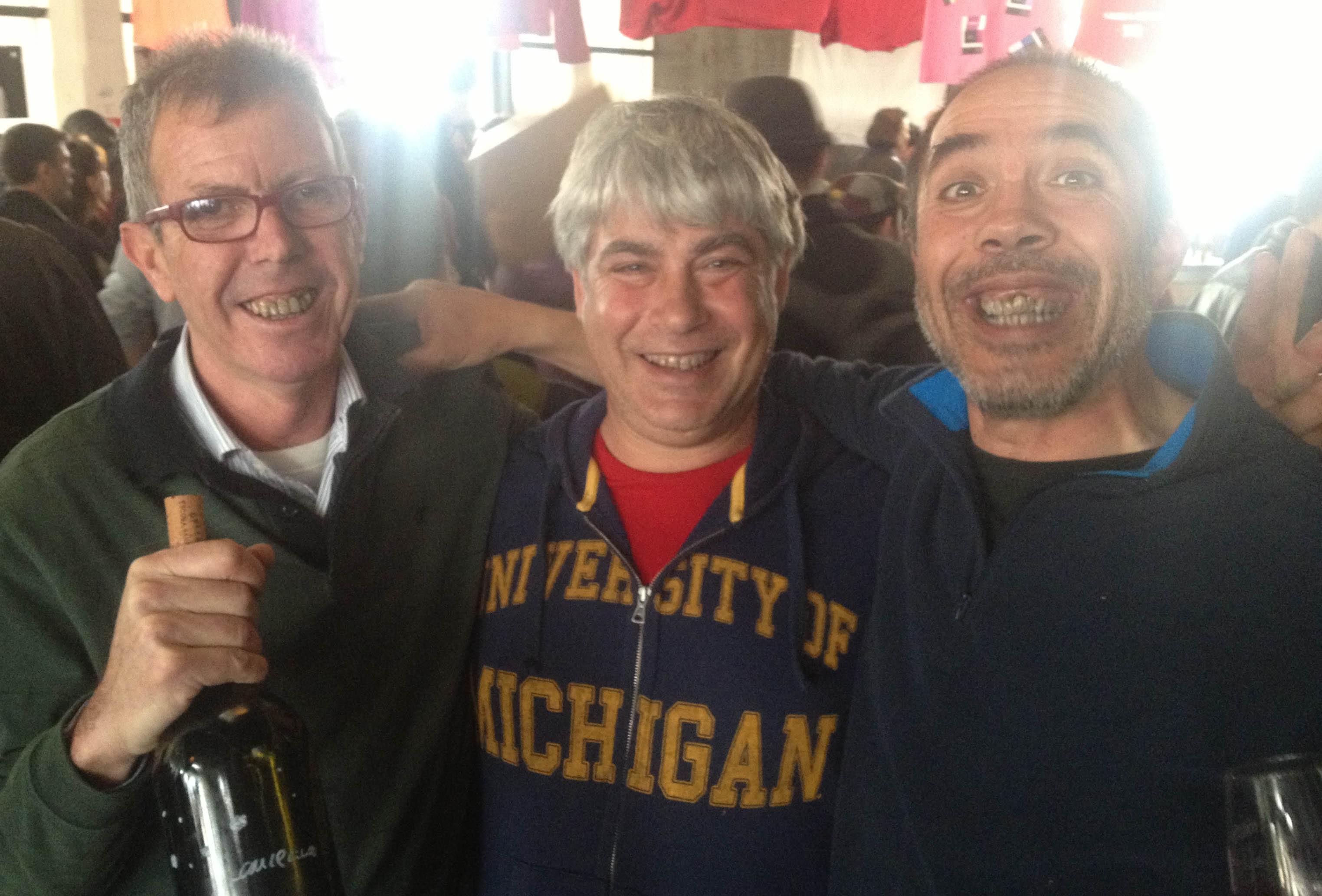 Antonio Vilchez, Jordi Llorens, Laureano Serres, les Tres Luces du vin nature espagnol